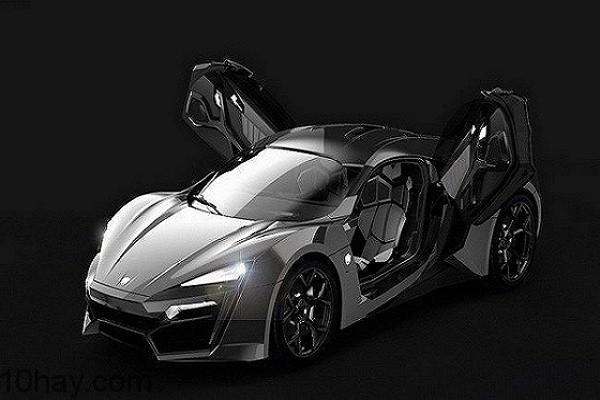 5. W Motors Lykan Hypersport giá 3,4 triệu USD