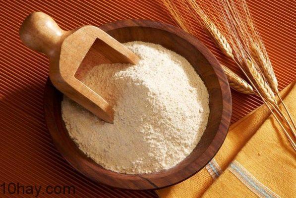 Bột mì trắng - thực phẩm dễ gây ung thư