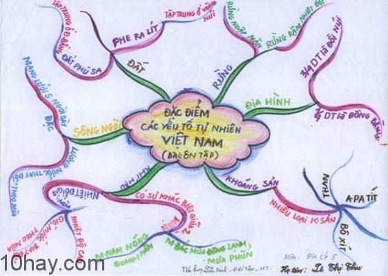 Sơ đồ (bản đồ) tư duy</span>