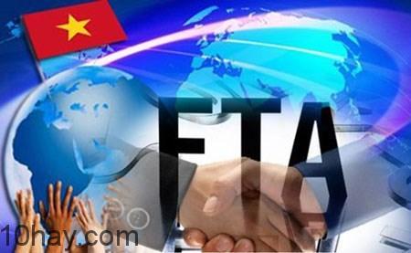 Việt Nam đang ngày càng tham gia nhiều các Hiệp định thương mại tự do