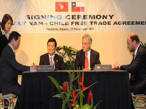 Lễ kí FTA Việt Nam-Chile