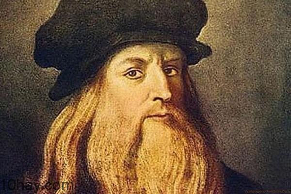Leonardo da Vinci (IQ 180-190)
