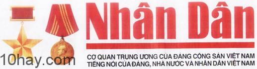Logo báo Nhân dân