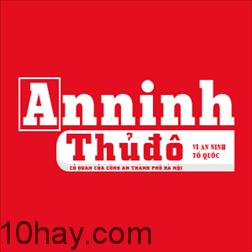 Logo báo an ninh thủ đô