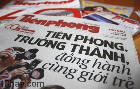 Một ấn phẩm của báo Tiền Phong