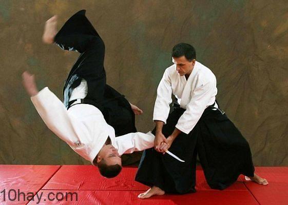 Một chiêu thức trong Aikido