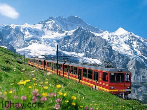 Núi Jungfrau