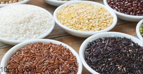 Ngũ cốc và đậu gây chán ăn