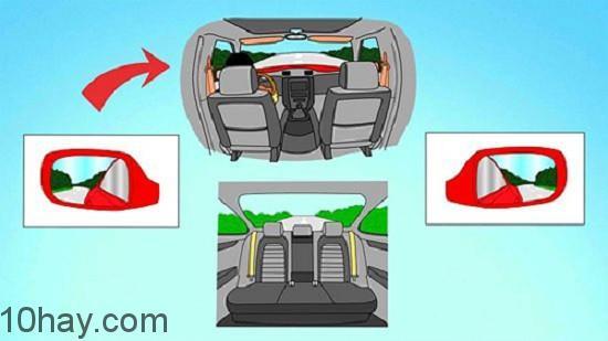 Quan sát xung quanh cẩn thận để lái xe an toàn