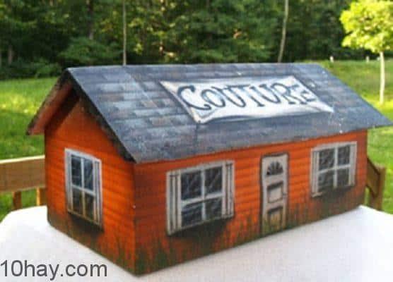 Chiếc quan tài hình ngôi nhà