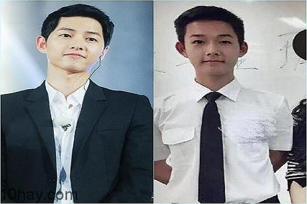 """Song Joong Ki và """"phiên bản"""" của mình"""