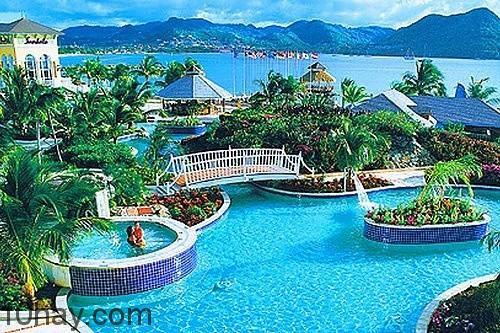 St Lucia - phong cảnh hùng vĩ