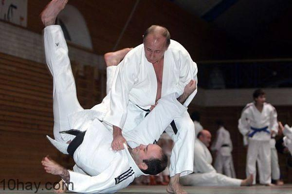 Tổng thống Nga Vladimir Putin - Một cao thủ Judo
