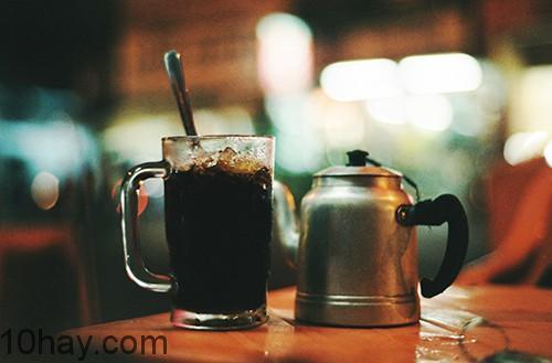 Uống 1 ly cafe ngay sau bữa tối