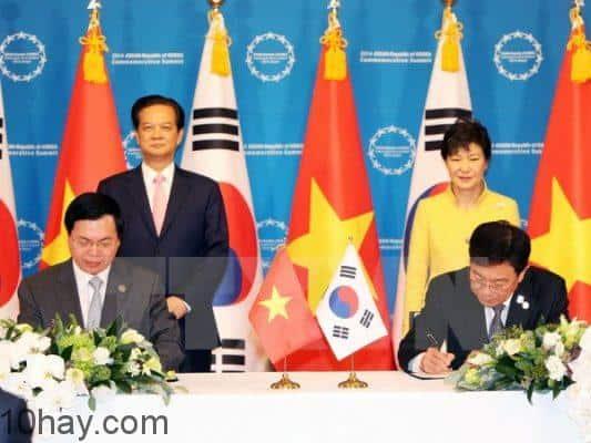Việt Nam chính thức ký kết FTA với Hàn Quốc