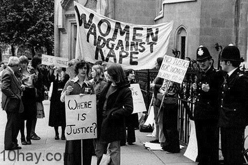 Women Against Rape demonstration London