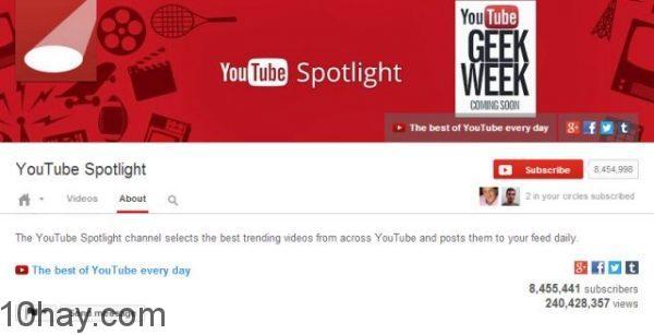 YouTube-Spotlight