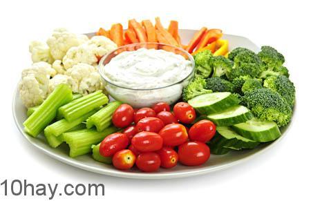 Rau xanh cung cấp dinh dưỡng cao