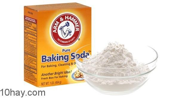 10 công dụng của baking soda