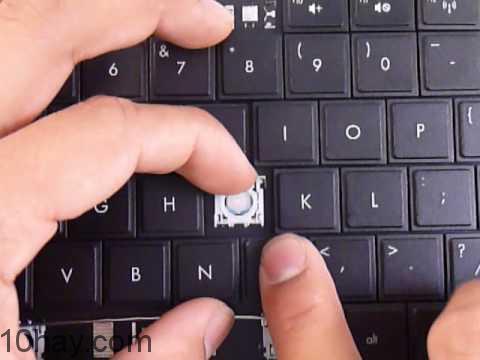 Lỗi bàn phím bị vỡ nút
