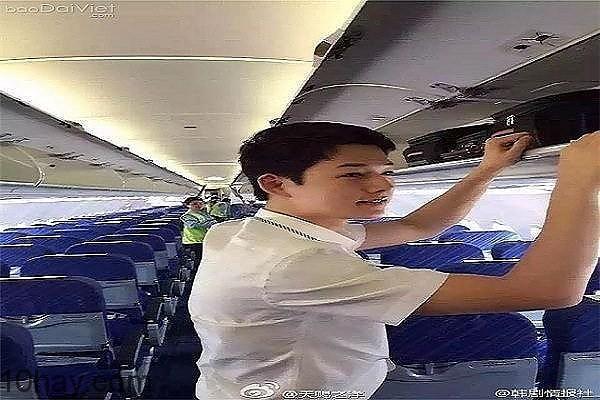 Chàng tiếp viên hàng không Minh Bằng