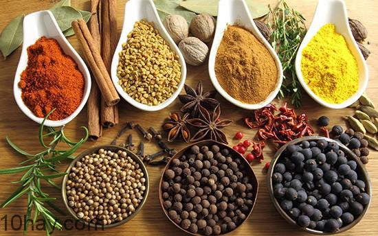 Phương pháp detox tại việt nam bằng các loại gia vị