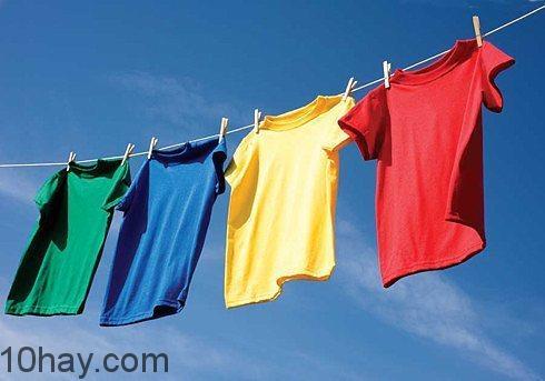 Công nghệ hạt nano tẩy trắng quần áo khi phơi dưới ánh nắng