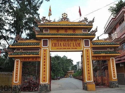 Chùa tọa lạc tại quận Tân Bình