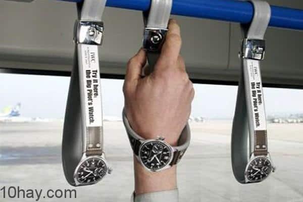 5. Quảng cáo đồng hồ