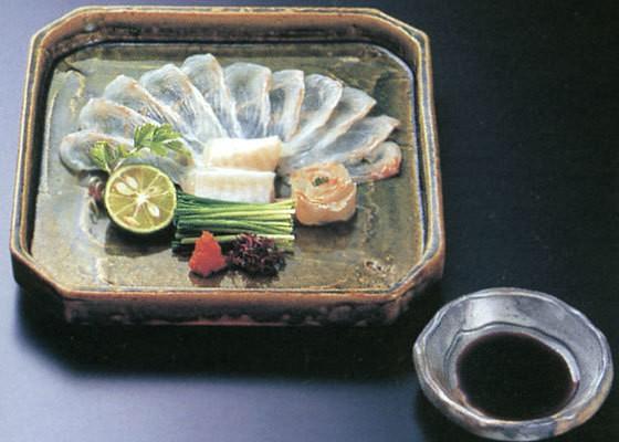 Người Nhật Bản ăn Fugu tươi sống