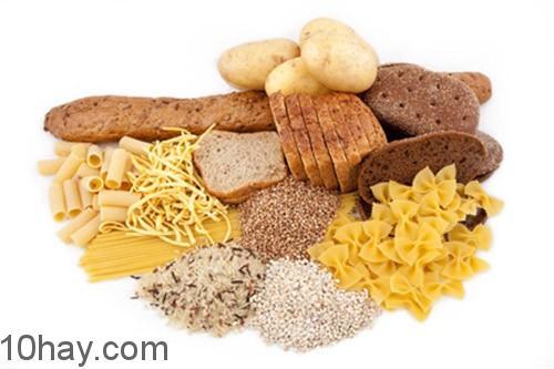 Tinh bột chuyển hóa khi dư thừa gây béo phì