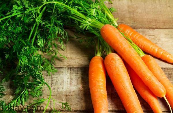 Cà rốt rất tốt cho não bộ