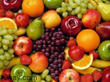 Nên ăn nhiều rau, củ, quả