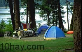 Bạn có thể cắm trại ở đây.