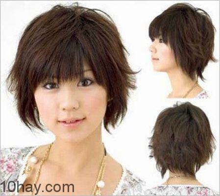 Kiểu tóc bob xoăn nhẹ dịu dàng
