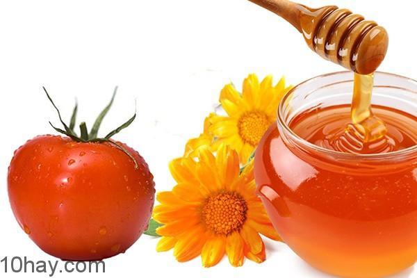 mặt nạ cà chua mật ong