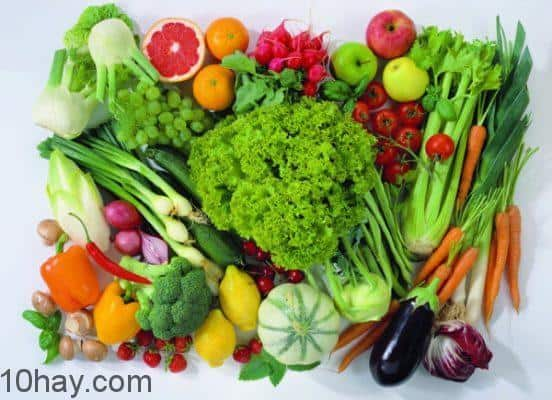 cách mua thực phẩm sạch, Thực phẩm tốt cho bộ não mùa thi