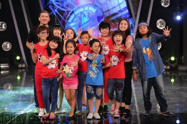 mua dau tien cua Vietnam idol kids