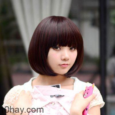 Kiểu tóc ngắn cho khuôn mặt bầu bĩnh