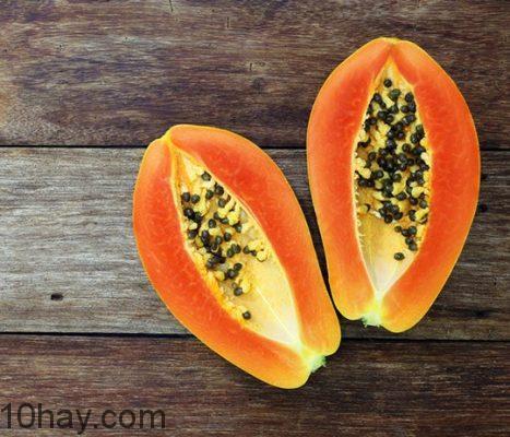 Đu đủ- thực phẩm nhiều vitamin C