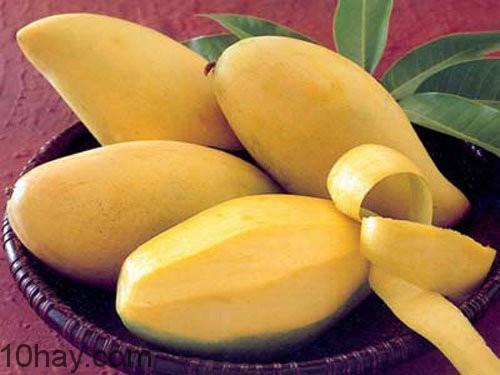 Xoài-thực phẩm nhiều vitamin C