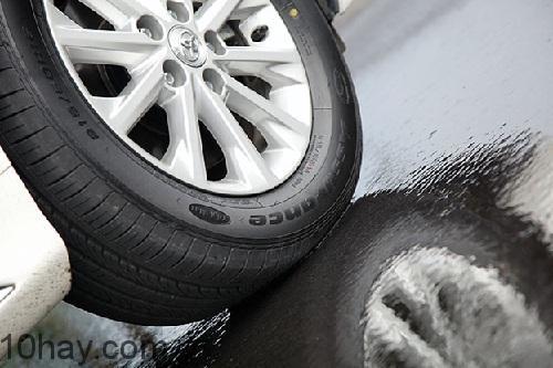 tình trạng của lốp xe có thể ảnh hưởng đến sự an toàn khi chạy xe