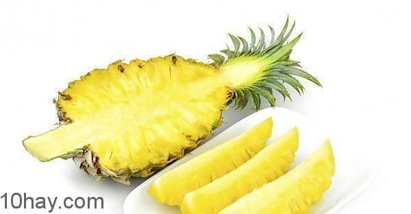 thơm chứa enzym tiêu thụ mỡ thừa