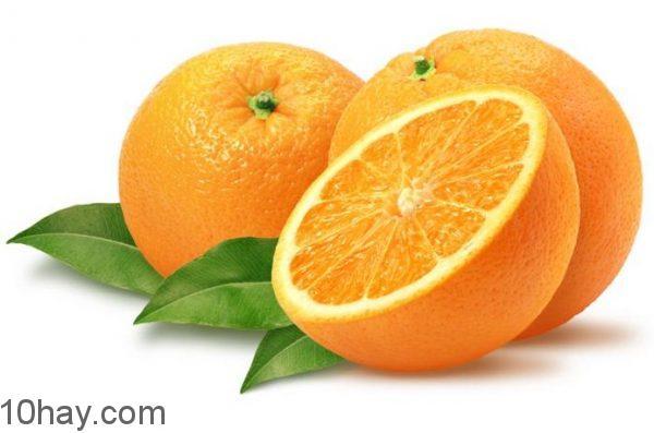 Cam là thực phẩm nhiều vitamin C nhất trong họ Chanh
