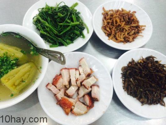 Những món ăn ngon, giàu dinh dưỡng trong mâm cơm gia đình