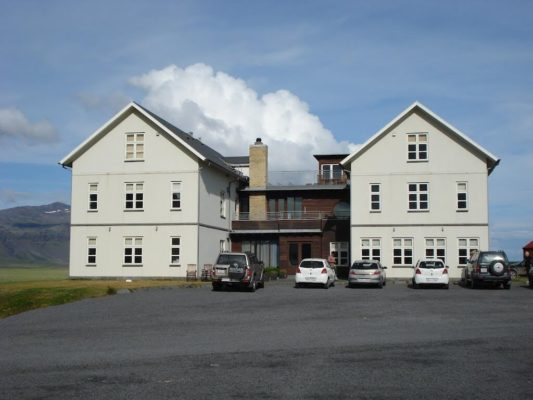 Khách sạn nổi tiếng nhất ở Iceland - Khách sạn Búðir