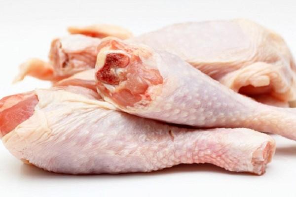 cách nhận biết thực phẩm bẩn - thịt gà