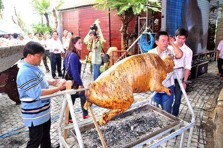 Dịch vụ nấu cỗ tại nhà Chung Chồn