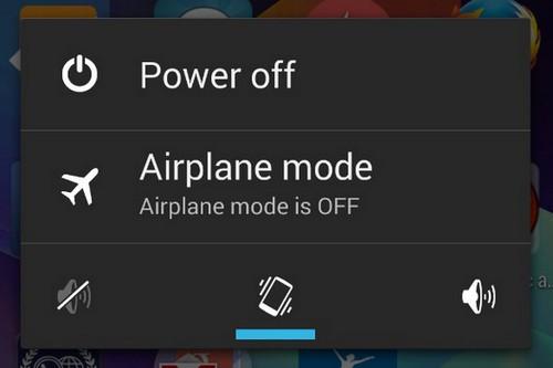 Để điện thoại ở chế độ máy bay