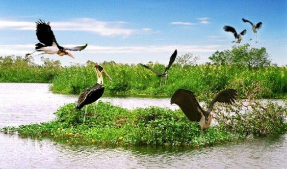 khu du lịch sinh thái miền Tây